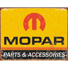 METAL SIGN MOPAR LOGO MSI-1315 1315