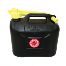 Fuel Safe Plastic Fuel Can 5L Black