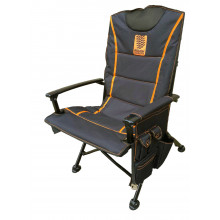 DELUXE FOLDING UPRIGHT CAMPING CHAIR