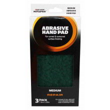 Motospray Abrasive Hand Pad Green (5Pack)
