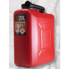 PLASTIC PETROL FUEL CAN 20LT