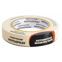 Motospray 24mm x 50m Hi Temp Automotive Masking Tape