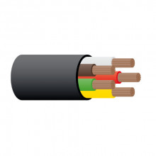 CABLE TRAILER 5 CORE 3MM 10AMP (1 METRE)