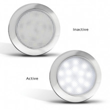 LED INTERIOR LAMP 12V ROUND
