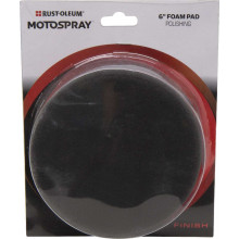 Motospray Foam Pad Black Polishing 150Mm