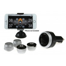 Gater Tyre Pressure Monitoring System Via Bluetooth Technology