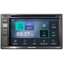 "ALPINE IVX-W200E 6.2"" 180W AV MULTIMEDIA RECEIVER"
