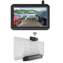 5IN REVERSE MONITOR W/SOLAR WIRELESS REAR CAMERA
