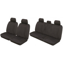 Neotrek Neoprene Ready Made Seat Covers - Holden Colorado RG Crew Cab LS LT LTZ