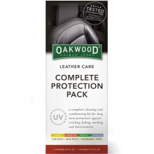 Oakwood Leather Care Complete Protection Pack