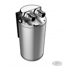 OIL CATCH TANK BAFFLED ROUND POLISHED BILLET 500ML