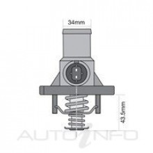 TRIDON THERMOSTAT WITH HOUSING