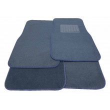 Streetwize Chicago Floor Mats - Carpet Blue Set of 4
