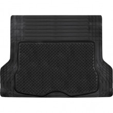 UNIVERSAL FIT RUBBER BOOT MAT BLACK