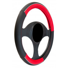 Streetwize Pro Style Steering Wheel Cover Red/Black