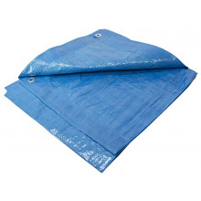 POLYETHYLENE TARPAULIN 10FT X 12FT BLUE