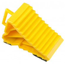 YELLOW WHEEL CHOCK