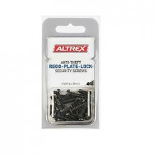 Altrex Anti-Theft Rego-Plate-Lock Security Screws