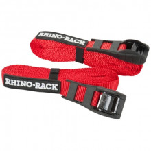 Rhino-Rack Rapid Straps With Cam Buckle Cover 4.5M Red