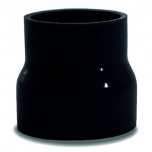 SAAS Straight Silicone Hose Reducer 51x76x76mm Black