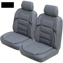 Ilana Sports Rider 30DS Extra Support Seat Covers Black