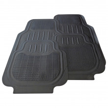 Streetwize Maui Floor Mats Black Rubber - Set of 4