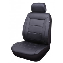 Streetwize  Evolution Leather Look 30/50 Seat Covers Black